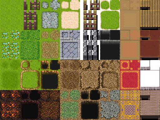 Une gamme de Tiles complète (du A1 jusqu'au E). Tilea2