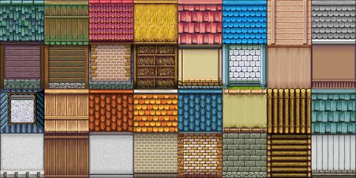 Une gamme de Tiles complète (du A1 jusqu'au E). Tilea3