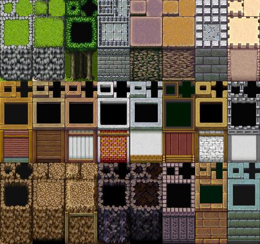 Une gamme de Tiles complète (du A1 jusqu'au E). Tilea4