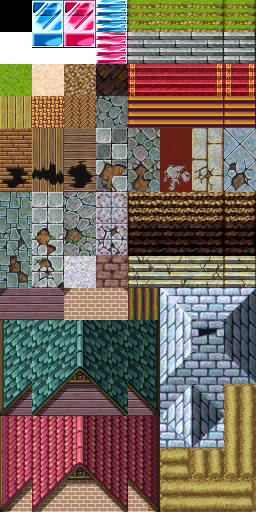 Une gamme de Tiles complète (du A1 jusqu'au E). Tilea5