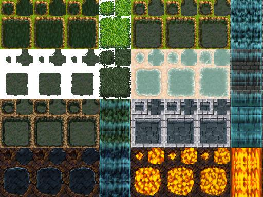Une gamme de Tiles complète (du A1 jusqu'au E). Tilea1