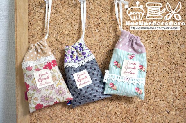 簡単可愛い♡ハンドメイド巾着の作り方!